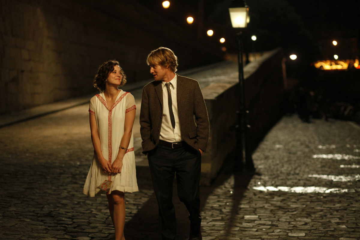 Midnight in Paris. Great movie!