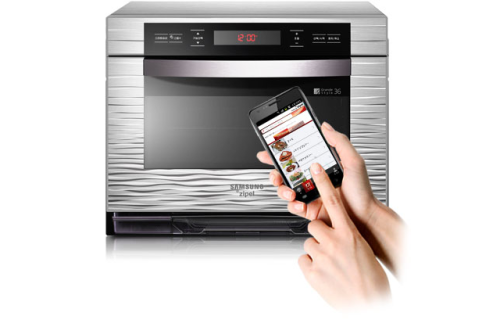 The Verge: New Samsung smart oven can be set with an Android app (via @hondanhon)