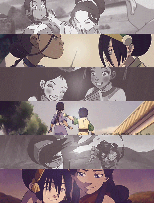 "cabbagebending:  ""The truth is: sometimes Katara does act motherly. But that's not always a bad thing. She's compassionate and kind. And she actually cares about me - you know, the real me.  That's more than my own mom."""