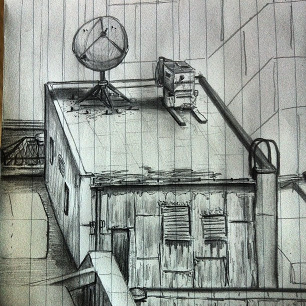 #Boston sketches work out alright after a few tries (Taken with Instagram)