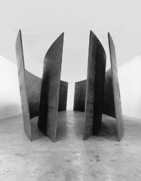ark-in:  richard serra, intersection II, 1992-93charlie rose, part two of a conversation with richard serra, 2007
