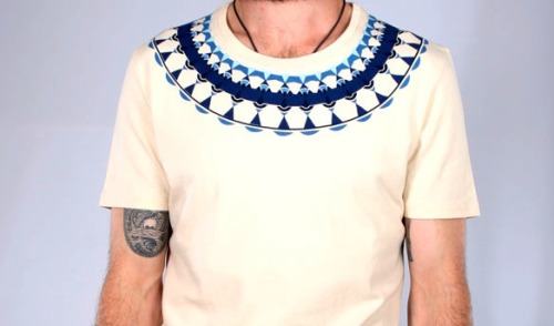 Folk Necklace Tee