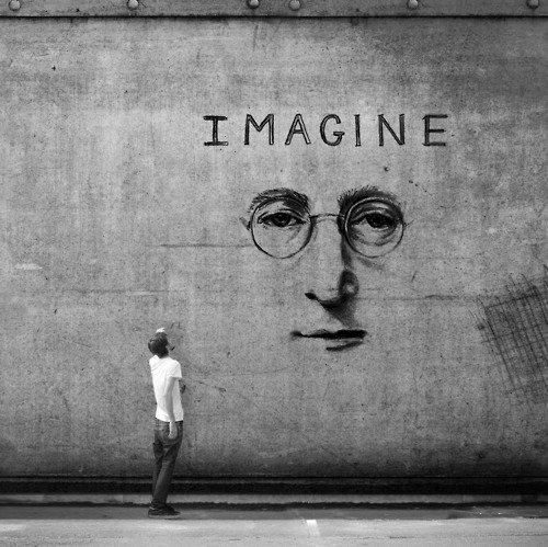 landscaped:  Imagine-John Lennon