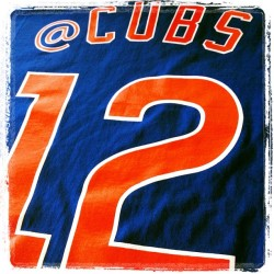 The #CubsSocial2 T-shirt. (Taken with Instagram)