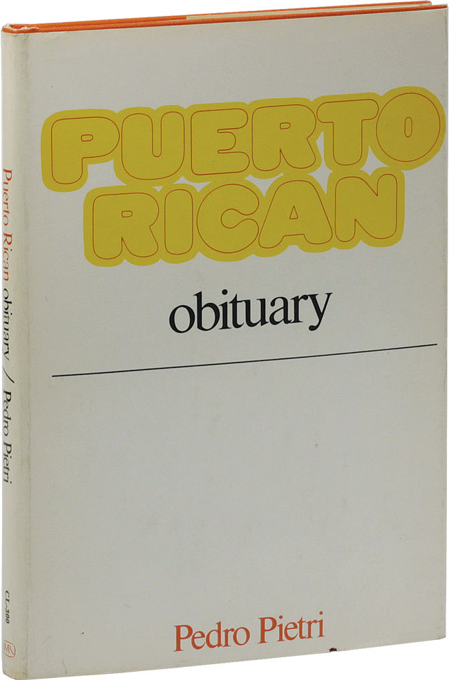Nuyoricans take note — a really nice copy of a really tough book!