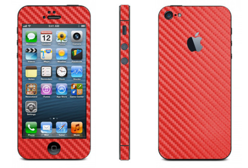 Our best new Red Carbon Fiber iPhone 5 Skins