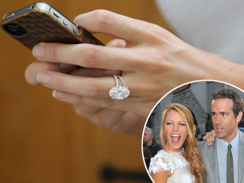 celebuzz:  EXCLUSIVE: Ryan Reynolds splashed $2M on Blake Lively's wedding ring!