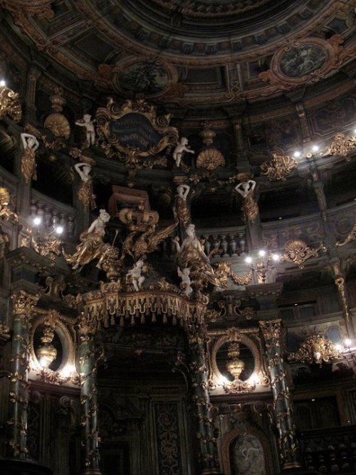 Markgräfliches Opernhaus (Margravial Opera House) in Bayreuth, Germany