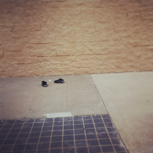 I don't understand how you can forget your shoes at Walmart??? #idk #shoes (Taken with Instagram)