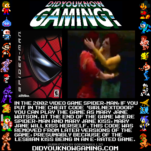 didyouknowgaming:  Spider-Man. http://www.youtube.com/watch?v=oYqJ0VtTcrE