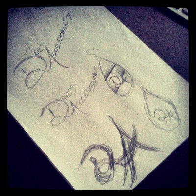 Sketches of a logo I have been working on. www.dpcreates.com #draw #logo #design #sketch #daroldpinnock #dpcreates #typography  (Taken with Instagram at My Design Studio)