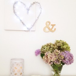 A little #diy #decor project I've been working on for a #bridal #magazine #craft #heart #hydrangeas #flowers #pastel #pastels #pasteloftheday  (Taken with Instagram)