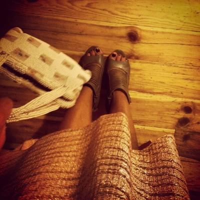 My #skirt and #shoes  (Taken with Instagram)