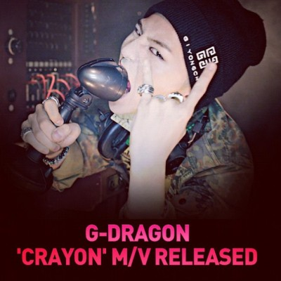 Have u watched it yet? I HOPE SO' ! #gd #ygapp #gdragon #kwonjiyong #crayon #oneofakind #1stminialbum #bigbang  (Taken with Instagram)