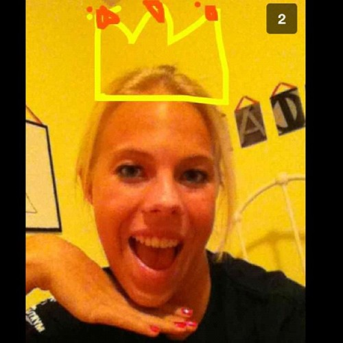 This chick thinks she's a princess @micala_france #princessprobz #payback 💋 (Taken with Instagram)