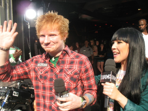 Ed Sheeran at NML <3