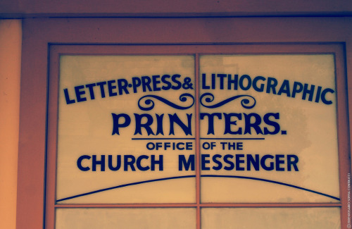 Letter-Press & Lithographic Printers (photo by Pochi Soffia)