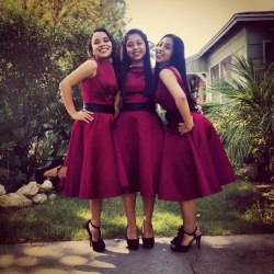 my favorite picture of me and my sisters yesterday  :}