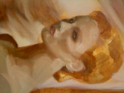 steamlita:  —   WIP still life (yeah, 'cause she's a mannequin). Oil Painting 2012 (I was literally working on this an hour ago)