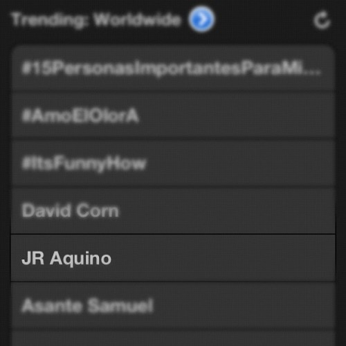 I was trending! So cool! Thanks for the love everyone! #TheKeenos (Taken with Instagram)