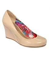 These are Maddan Girl Shoes-Ursy Wedges and they are $49.00 at Macy's. Does anyone know where I can buy them cheaper? I love the colour and the interior style. They are also a very bold colour-I think it's a cream colour.