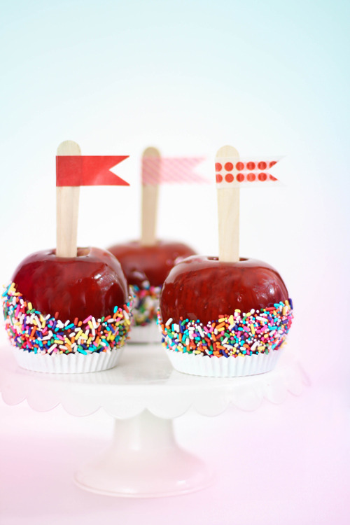 classic candied apples.