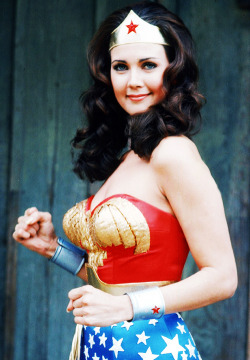 falconx7:  vintagegal:  Lynda Carter as Wonder Woman (1970's)  The whole world is waiting for you.