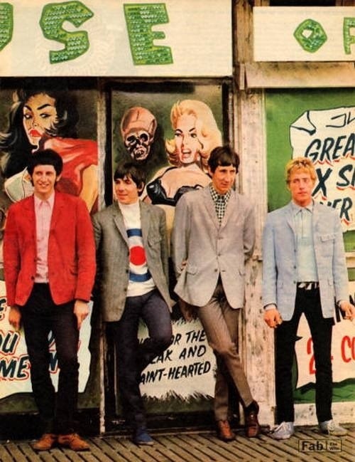 The Who, 1966.Visit Kirstenjy on Pinterest for more 1960's inspiration!