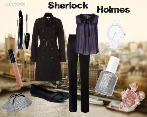 The Consulting Detective by redgingerberry featuring maxmara