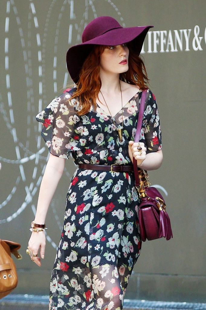 verysherry:  Florence Welch out in NYC - July 17, 2012