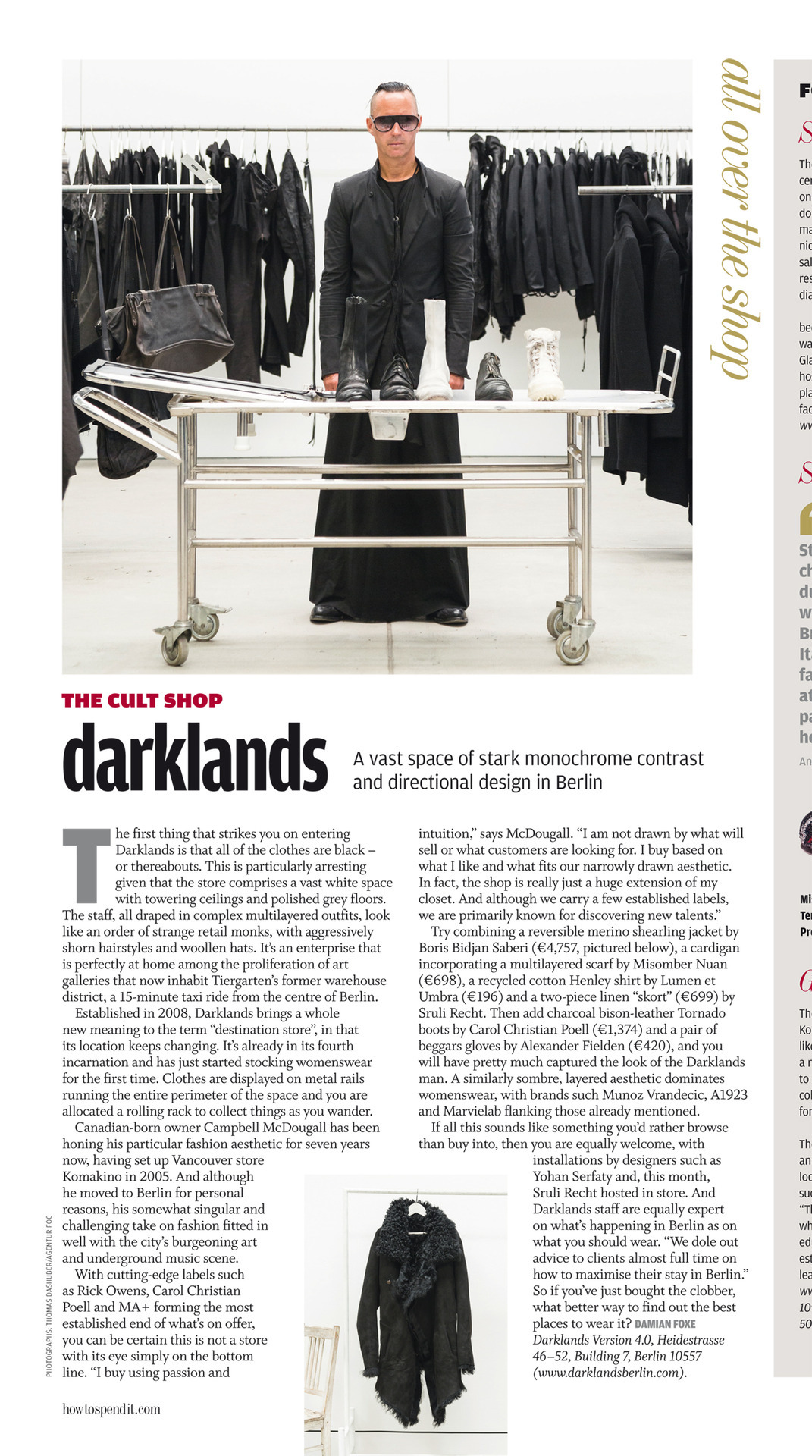 Darklands BerlinGreat store, great buys, impeccable aesthetics