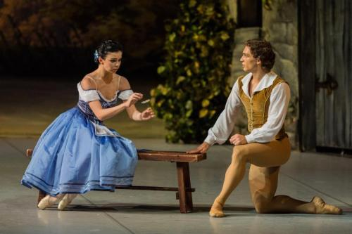 thedailyballet:  Ivan Vasiliev and Natalia Osipova in Giselle. Photos by Stas Levshin.
