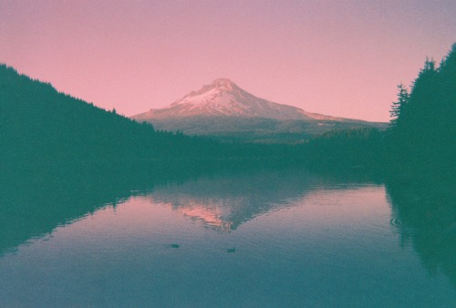 Film Photography Submission By: brettspurr  Mt. Hood Oregon no name disposable expired 1975