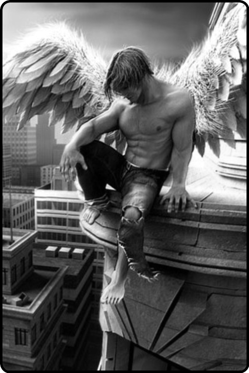 wounded angel…