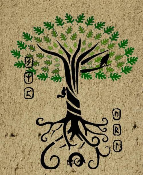 witch-tastic:  Yggdrasil -The World Tree- by ~Duende14