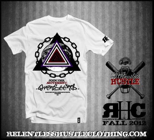 OverseeRs.Relentless Hustle Clothing.Collaboration. 1 of xxx. Being sold online everywhere late September 2012. *Designed by Chris Crude, Calvin/Chance & Rey Rudek.