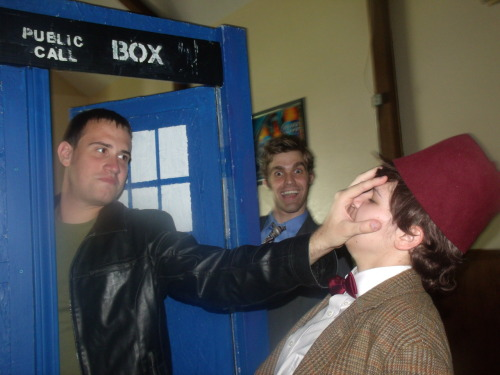 "jackandsamforever:  highly-functioning-timelord:  themanwhomakespeoplebetter:  bowtied:  every-body-lives:  themanwhomakespeoplebetter:   bowtied:   mycroftsmindtardis:   andrastesgrace:   Nine: Out you go. This is big boy project. Ten: Hey look! A camera! Eleven: ogrdiuweguhregoiegwaoiewg    oh look guys the 50th anniversary promo pics are out    ""Big boy"" project? Blimey, I am over twelve hundred years old. I should be the one shoving my hand into his face.      Jus' because I've got th' TARDIS doesn't mean you can go an' throw a temper tantrum.  An' it was my TARDIS an'ways.    It's- the same TARDIS! The same TARDIS! My TARDIS is your TARDIS is my TARDIS is your TARDIS! You are me and I am you, except I'm- older! Hah!     AHA IT GOT BETTER  This post wins the internet..everyone else can just go home."