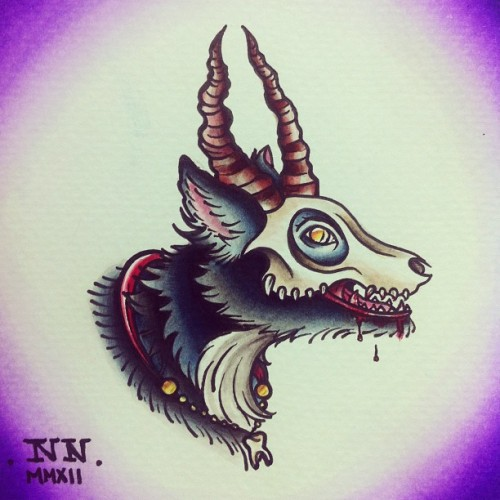 A Hellhound for Luka! (Taken with Instagram)