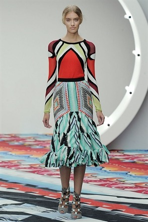 Peter Pilotto SS2013 London Fashion Week