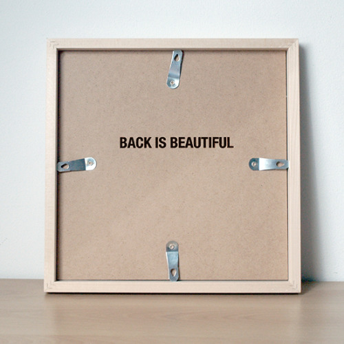 """back is beautiful"" by anatol knotek"