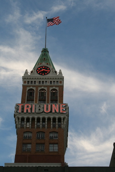 Oakland Tribune Building. 13th & Franklin Streets in downtown Oakland.