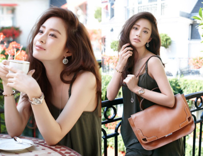 Kim taehee for Cartier
