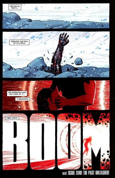 BOOM. New Gods. (via Newsarama.com : BRIAN AZZARELLO On Ending WONDER WOMAN #12 With a 'BOOM')