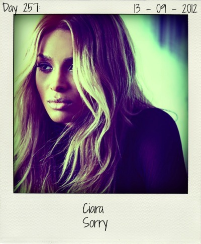 After the flop of (buzz?) single 'Sweat', ms. Ciara is back with a new single off her forthcoming album 'One Woman Army'. Luckily, 'Sorry' is something else. She's done it right this time. It's a hit!