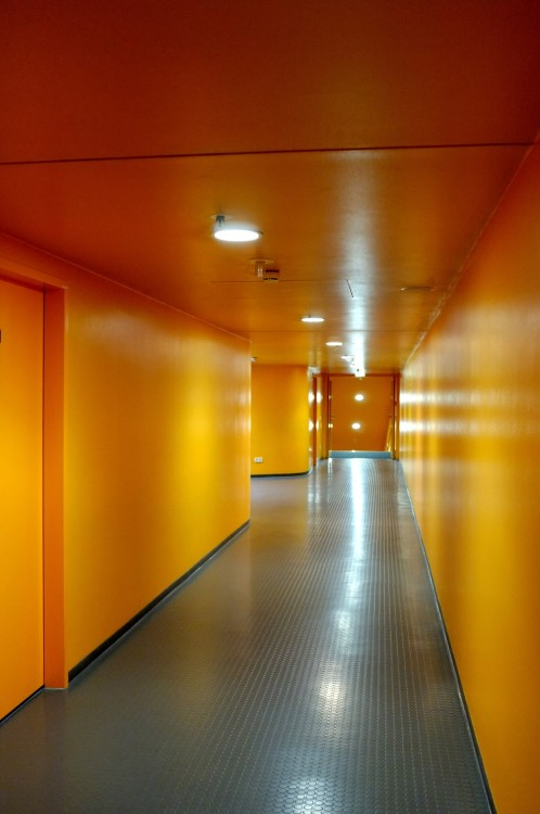 Orange zone. Allianz Arena, Munich, September 2012.