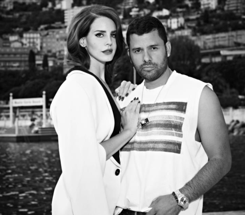 fuckyeahlanadelrey:  Lana with fashion photographer Mariano Vivanco