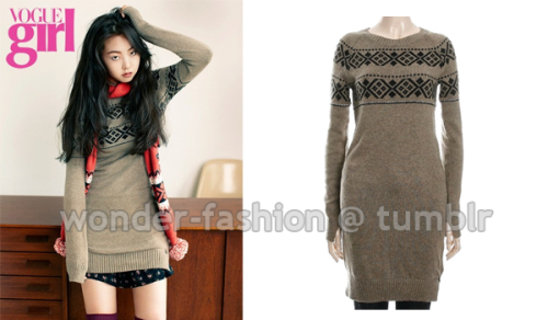 Tommy Hilfiger Denim, Sweater dress ₩185,000 via Lotte