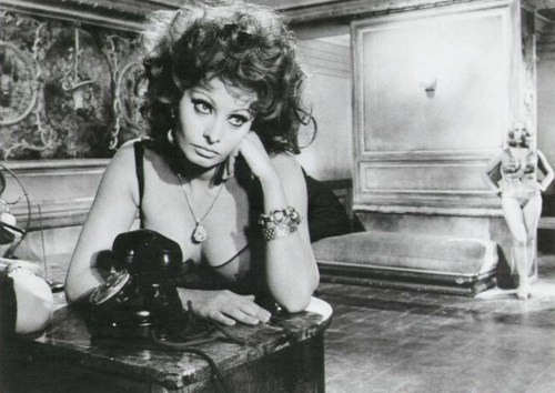 jeanjeanie61:  Sophia Loren - 'Marriage Italian Style' - 1964 http://open.salon.com