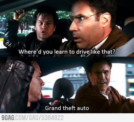 9gag:  I also learned how to drive from there.