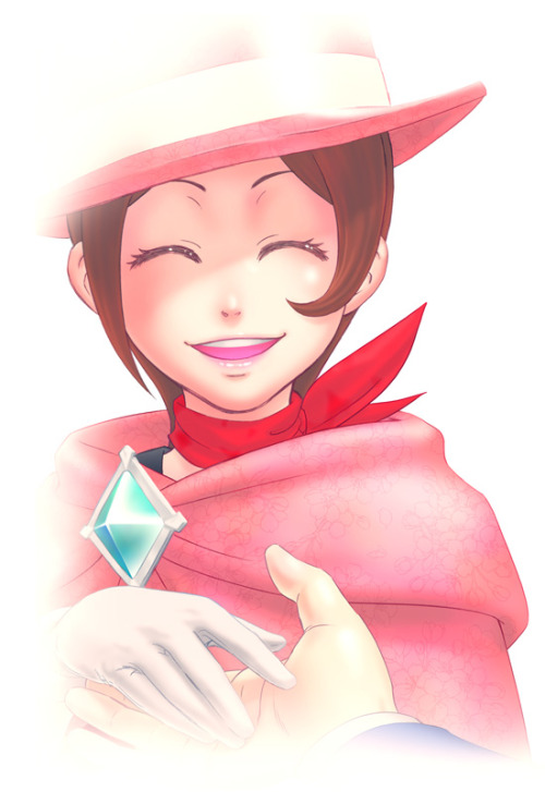 rainbowchan:  trucy x she's so cute <3